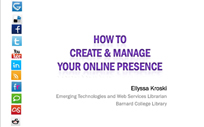 How to Create & Manage Your Online Presence